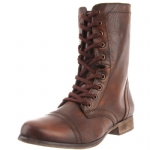 Steve Madden Troopa  Boots -Brown