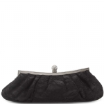 Jessica McClintock V06665 Lace Clutch Bag - Black