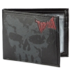 Tapout Leather Bifold Skull Wallet